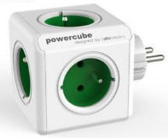 PowerCube Extended incl. 1,5 m Cable green Type F