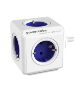 PowerCube Extended incl. 1,5 m Cable blue Type F