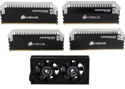 CORSAIR Dominator Platinum 16GB kit (2x8 GB) DDR3 PC3-21300,  2666MHz DIMM 12-13-13-35,  1.65V, Unbuffered (CMD16GX3M2A2666C12)