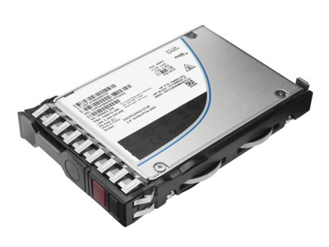 "HPE Mixed Use-3 - Halvledarenhet - 400 GB - hot-swap - 2.5"" SFF - SAS 12Gb/s - fabriksintegrerad - med HP SmartDrive-bärvåg"