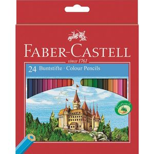 FABER-CASTELL Färgpenna Red Line  24/ask (111224)