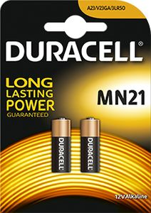 DURACELL Alkaline Security  MN21 12V 2p (045637)