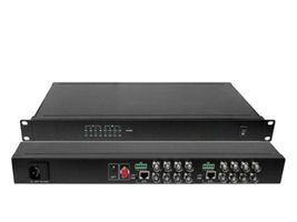 16-PORT BNC OVER FIBER EXT KIT 20KM RACK-MOUNT ACCS