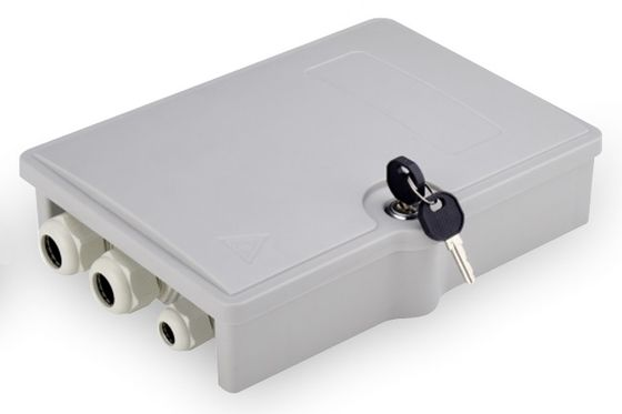 FTTH OUTDOOR DISTRIBUTION BOX FOR 6 SC/DX ACCS