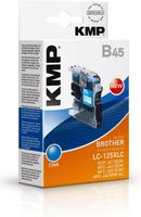 B45 ink cartridge black compatible to Brother LC-125XLC