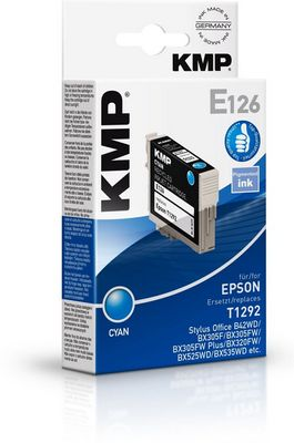 E126 ink cartridge cyan compatible with Epson T 129
