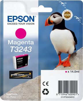 T3243 Magenta for Epson P400