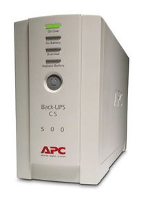 APC Back-UPS CS 500VA Offline USB/ serial,  Data/DSL protection (BK500EI)