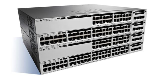 Catalyst 3850 16 Port 10G Fiber IP Base