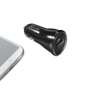 CELLY (CAR CHARGER 1A USB BLACK) (CCUSB)