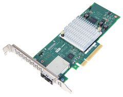 HBA 1000-8E SATA/SAS LP-MD2 CONTROLLER 8-PORT 8EXT           IN CTLR