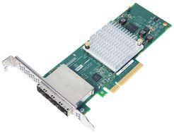 ADAPTEC HBA 1000-16E SATA/SAS LP-MD2 CONTROLLER 16-PORT 16EXT         IN CTLR (2288200-R)