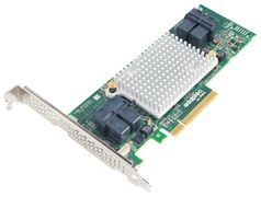 ADAPTEC HBA 1000 2288400-R (1000-16i) 8-Lane PCIe Gen3 Low-Profile, MD2 SATA / SAS 12 Gb/s PCIe Gen3 Host Bus Adapter