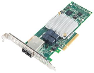 ADAPTEC HBA 1000-8I8E SATA/SAS LP-MD2 CONTROLLER 16-PORT 8INT / 8EXT   IN CTLR (2288500-R)
