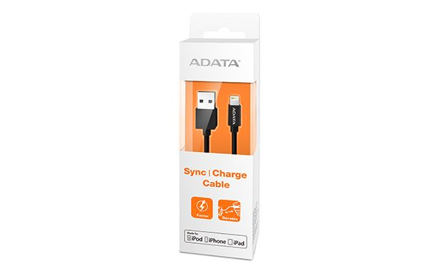 Lightning&Sync Cable Black