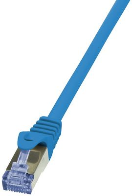 CAT6A S/FTP Patchkabel AWG26 PIMF blau 2,00m