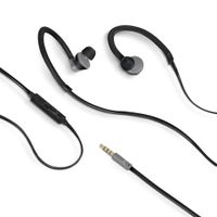 (SPORT EARPHONES 3.5 MM BLACK)