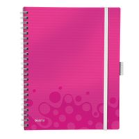 Be Mobile Book WOW PP A4 ruled 80sh pink