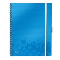 Be Mobile Book WOW PP A4 ruled 80sh blue
