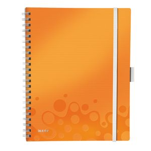 LEITZ LETIZ Be Mobile Book WOW A4 Squared 80g/80s **6-pack**  Orange (46450044)