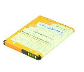 2-POWER Smartphone Battery 3.8v 1650mAh Tilsvarende BAS890 (MBI0132A)