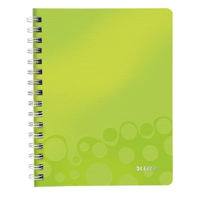 Notepad WOW PP A5 w/holes squar 80sgreen