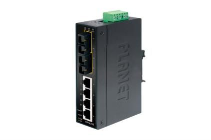 IND FAST ETHE. SWITCH 4 PORT 4-PORT 10/100 MBPS RJ45          IN PERP