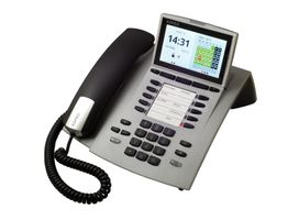 AGFEO ST45 IP Systemtelefon silber (6101323)