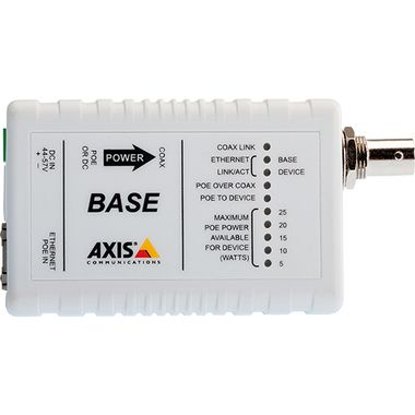 AXIS T8641 POE+ OVER COAX BASE IN CAM