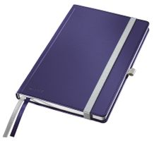 Notepad Style A5 hard squared 80s. blue