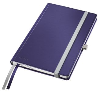 LEITZ Notepad Style A5 hard squared 80s. blue (44860069*5)