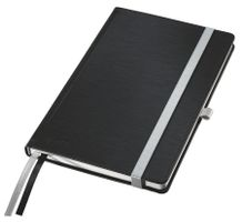 Notepad Style A5 hard squared 80s black