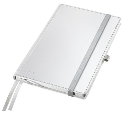 Notepad Style A5 hard squared 80s white