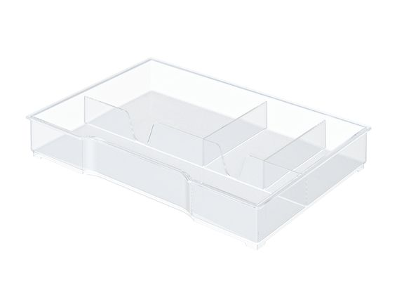 DRAWER TRAY FOR PLUS- AND WOW DRAWER UNITS TRANSPARENT