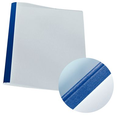Cover thermal Linen blue. 4mm (25)