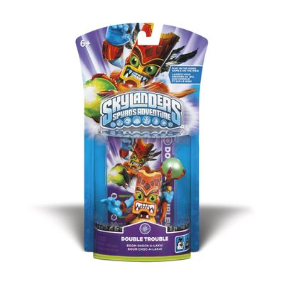Skylanders: Double Trouble CharacterFungerar med 360, PS3, Wii, 3DS, PC