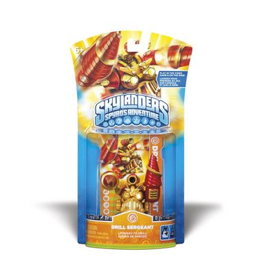 Skylanders: Drill Segeant Figur Fungerer med 360, PS3, Wii, 3DS, PC