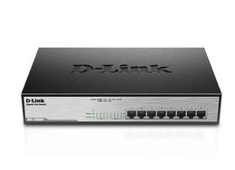 D-LINK 8-Port Desktop Gigabit PoE+Switch