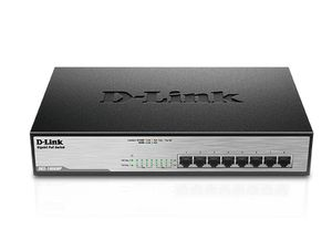 D-LINK 8-Port Layer2 PoE+ Gigabit