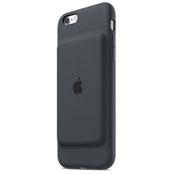 iPhone 6s Smart Battery Case CharcoalGRY