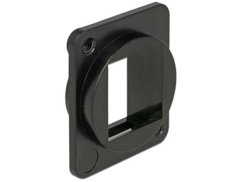 DELOCK Keystone Halterung 1 port for D-Type (86275)