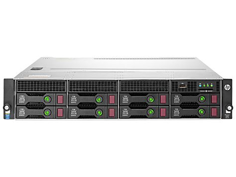 ProLiant DL80 Gen9 E5-2603v3 1P 8GB-R 12LFF 900W PS Server/TV