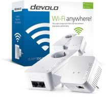 dLAN 550 WiFi Starter Kit Powerline
