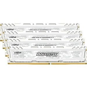 CRUCIAL 32GB KIT 8GBX4 DDR4 PC4-19200 CL16 DR X8 UNBUFF DIMM 288PIN (BLS4C8G4D240FSC)