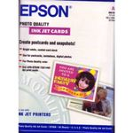EPSON INKJET PHOTO CARD PAPER A6 50CT NS (C13S041054)