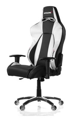 PREMIUM Gaming Chair Black Silver