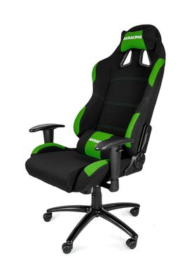 Gaming Chair Black Green