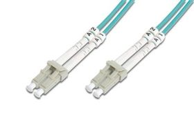 FIBER OPT PATCH C LC/LC 15M OM3 MULTIM 50/125 CABL