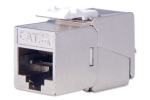 CAT 6A Keystone Jack. shielded