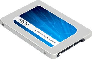 "Crucial® BX200 480GB 2.5"" SSD 7mm w/ adapter,  540/ 490Mb/ s read/ write,  16n TLC NAND"